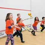 kids playing squash